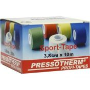 Pressotherm Sport-Tape weiß 3.8cmx10m