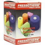Pressotherm Kohäsive Bandage 8cmx4m weiß