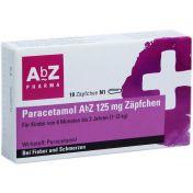 Paracetamol AbZ 125mg Zäpfchen