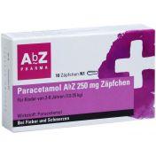 Paracetamol AbZ 250mg Zäpfchen