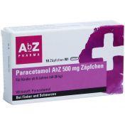 Paracetamol AbZ 500mg Zäpfchen