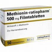 Methionin-ratiopharm 500mg Filmtabletten
