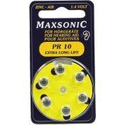 Batterie für Hörgeräte MAXSONIC PR10