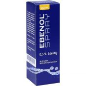 Ebenol Spray 0.5% Lösung