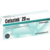 Cefazink 20mg