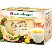 Bad Heilbrunner Ingwer-Ginseng Tee