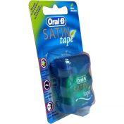 Oral-B Zahnseide SATINtape blau Blisterkarte