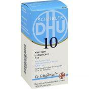 BIOCHEMIE DHU 10 NATRIUM SULFURICUM D12 günstig im Preisvergleich