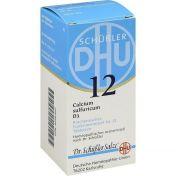 BIOCHEMIE DHU 12 CALCIUM SULFURICUM D 3 günstig im Preisvergleich