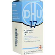 BIOCHEMIE DHU 17 MANGANUM SULFURICUM D12 günstig im Preisvergleich