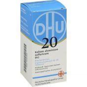 BIOCHEMIE DHU 20 KALIUM ALUMINIUM SULFURICUM D12 günstig im Preisvergleich