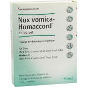 Nux Vomica homaccord ad us. Ampullen vet.