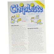 ChipListe-Leporello günstig im Preisvergleich