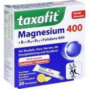 taxofit Magnesium 400+ B1+ B6+ B12+ Folsäure 800 günstig im Preisvergleich