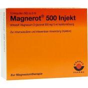 magnerot 500 Injekt günstig im Preisvergleich