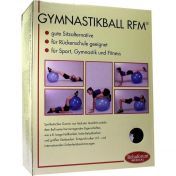Gymnastikball Rehaforum 55cm orange-metallic