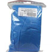 Matratzen-Schutzbezug PE-Folie blau