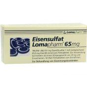 Eisensulfat Lomapharm 65mg