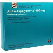 Alpha-Lipogamma 600 Infusionslösungskonzentrat günstig im Preisvergleich