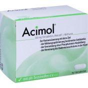 Acimol mit PH-Teststreifen