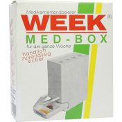 Medikamentendispenser 7 Tage grün