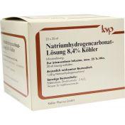 Natriumhydrogencarbonat-Lösung 8.4% Köhler günstig im Preisvergleich