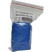 Überschuh Einmal Kunststoff blau