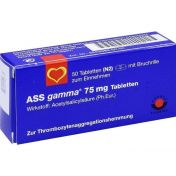 ASS-gamma 75mg Tabletten