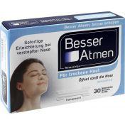 Besser Atmen Nasenstrips transparent normale Größe günstig im Preisvergleich