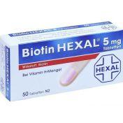 Biotin HEXAL 5mg