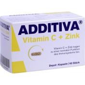 ADDITIVA VITAMIN C Depot-Kapseln 300mg