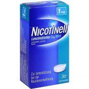 Nicotinell Lutschtabletten 1mg Mint