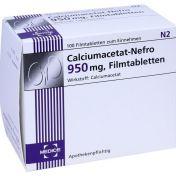 Calciumacetat-Nefro 950mg günstig im Preisvergleich