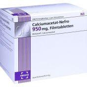 Calciumacetat-Nefro 950mg