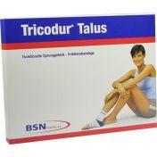 Tricodur Talus Bandage weiß-blau rechts L günstig im Preisvergleich