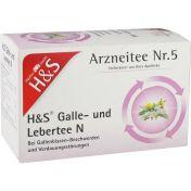 H&S Galle-und Lebertee N günstig im Preisvergleich
