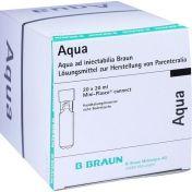 Aqua ad Injektabilia Mini-Plasco connect günstig im Preisvergleich