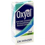 Oxyal benetzende Augentropfen