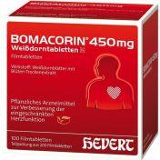 Bomacorin 450mg Weißdorntabletten N