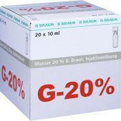 Glucose 20% Braun Mini-Plasco connect günstig im Preisvergleich