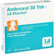 Ambroxol 30 Tab-1A Pharma