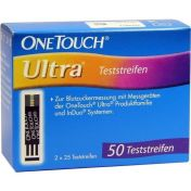 ONE TOUCH Ultra Sensor Teststreifen