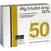 MG 5 SULFAT 50% günstig im Preisvergleich