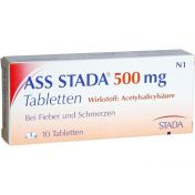 ASS STADA 500mg Tabletten