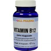 VITAMIN B12 3ug GPH