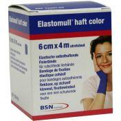 Elastomull haft 4mx6cm color blau