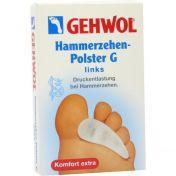 GEHWOL Polymer-Gel Hammerzehen-Polster G links