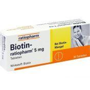 Biotin-ratiopharm 5 mg