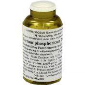 Ferrum phosphoricum D 6 Schüssler Nr.3 handverrieb