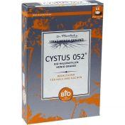 Cystus 052 Bio Halspastillen Honig-Orange